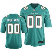 Nike 2013 Youth NFL Miami Dolphins Customized Team Color Jersey - Game